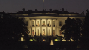 South Lawn view of the White House. Courtesy of Media Education Foundation.